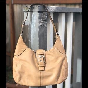 COACH TANNED LEATHER